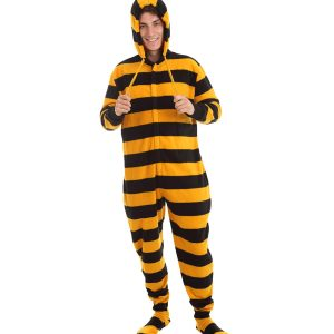 Bumble Footed Striped Onesie